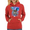 Timber Wolf MidNight Forest Womens Hoodie