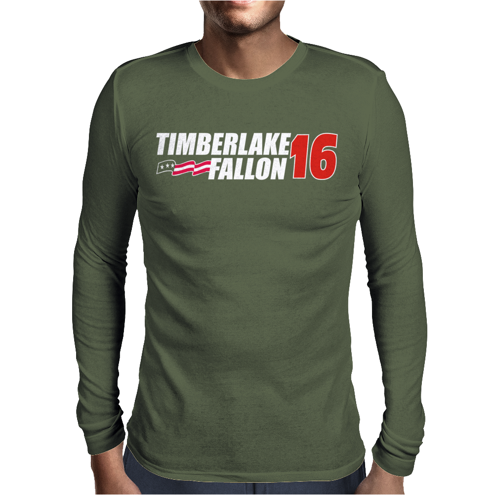 Timberlake Fallon 2016 Mens Long Sleeve T-Shirt