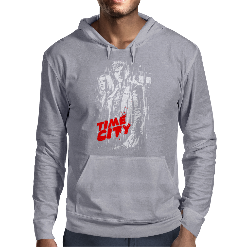 Time City Mens Hoodie