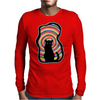 time for child stories: the BLACK CAT by Rouble Rust Mens Long Sleeve T-Shirt