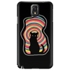 time for child stories: the BLACK CAT by Rouble Rust Phone Case