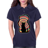 time for child stories: the BLACK CAT by Rouble Rust Womens Polo
