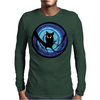 time for child stories: the EVIL OWL by Rouble Rust Mens Long Sleeve T-Shirt