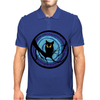 time for child stories: the EVIL OWL by Rouble Rust Mens Polo