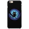 time for child stories: the EVIL OWL by Rouble Rust Phone Case