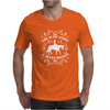 Time In The Saddle Is Never Wasted Mens T-Shirt