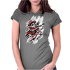 Time Rider Womens Fitted T-Shirt