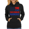 Time To Get Star Spangled Hammered Womens Hoodie