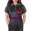 Time To Get Star Spangled Hammered Womens Polo