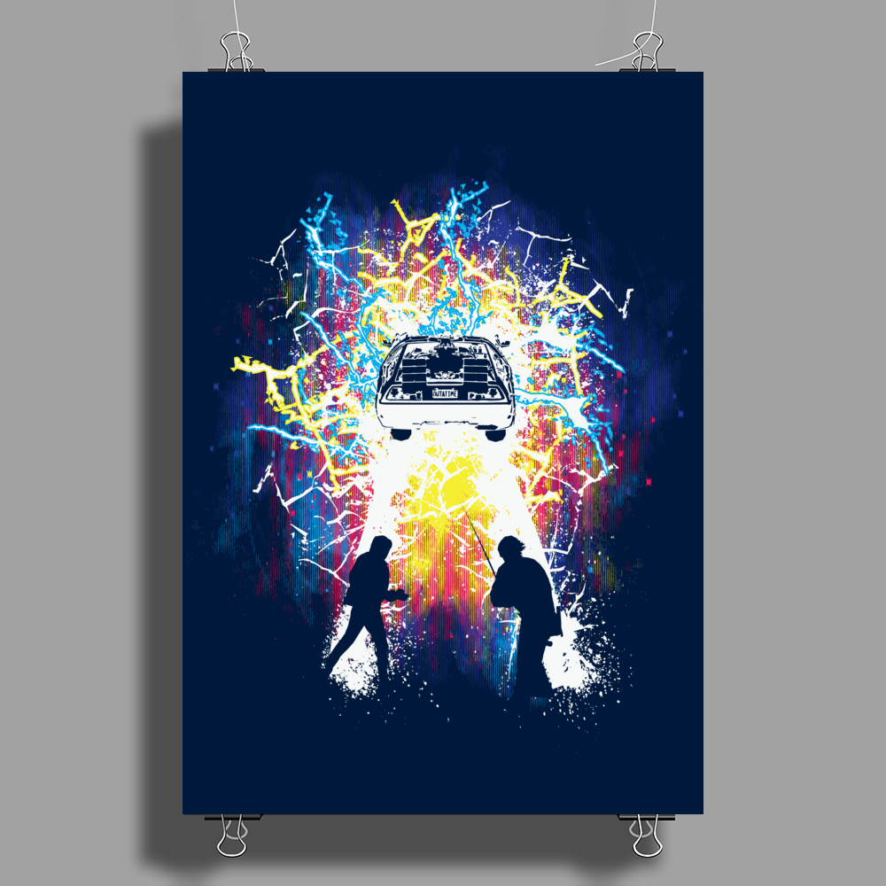 Time Travelers Poster Print (Portrait)