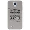 To Be A Gangster Phone Case