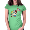 To The Rescue Womens Fitted T-Shirt