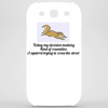 Today my decision making kinda resembles a squirrel trying to cross the street  Phone Case