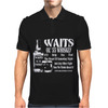 Tom Waits Inspired Mens Polo