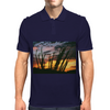 Tombstone Ocotillo Sunset Mens Polo