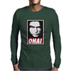 Tommy Wiseau OHAI obey The Room Mens Long Sleeve T-Shirt