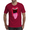 Tongue Sticking Out Mouth and Lips Mens T-Shirt