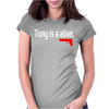 Tony is alive Sopranos Womens Fitted T-Shirt