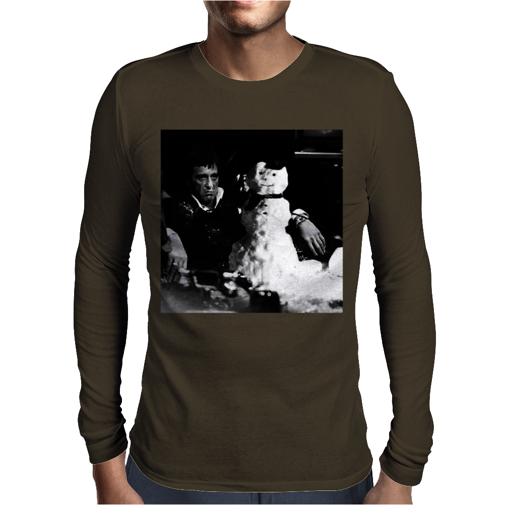 Tony Montana Scarface Mens Long Sleeve T-Shirt