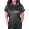 TOO MUCH BACON FUNNY Womens Polo