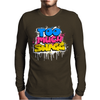 Too Much Swagg Graffiti Mens Long Sleeve T-Shirt