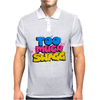 Too Much Swagg Graffiti Mens Polo