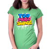 Too Much Swagg Graffiti Womens Fitted T-Shirt