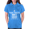 Tool Rules, Funny Womens Polo
