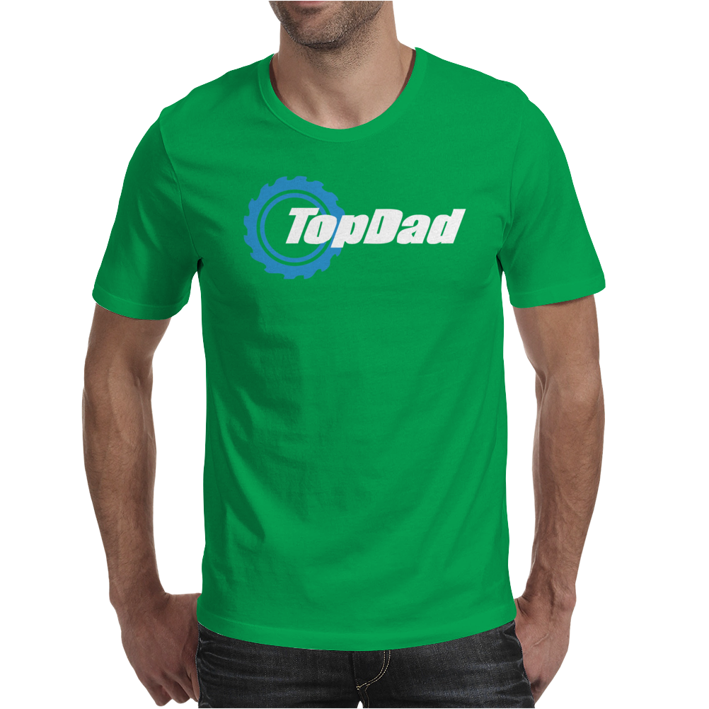 TOP DAD MENS FUNNY NOVELTY Mens T-Shirt
