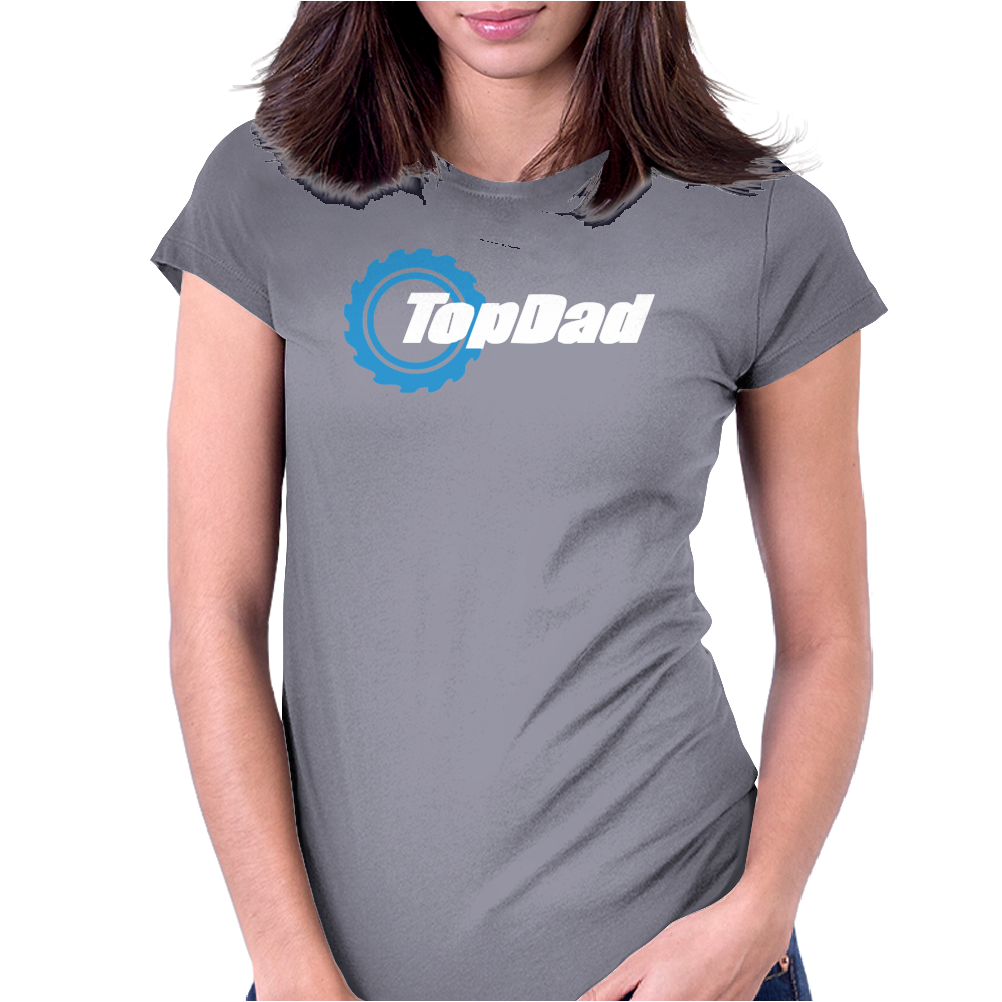 TOP DAD MENS FUNNY NOVELTY Womens Fitted T-Shirt