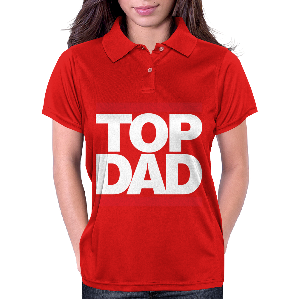 Top Dad Womens Polo