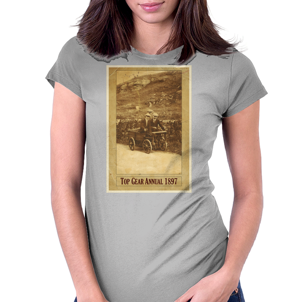 Top Gear Annual Womens Fitted T-Shirt