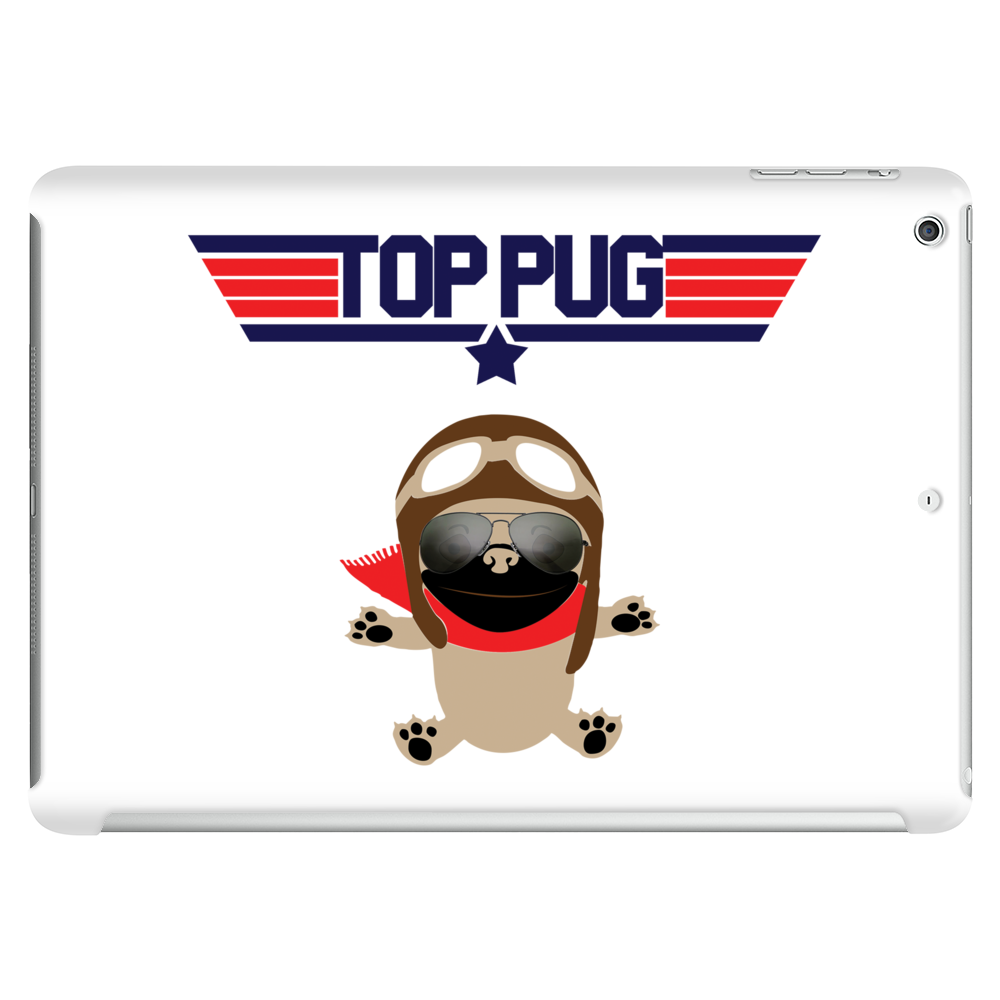 Top Pug T-shirt Tablet (horizontal)