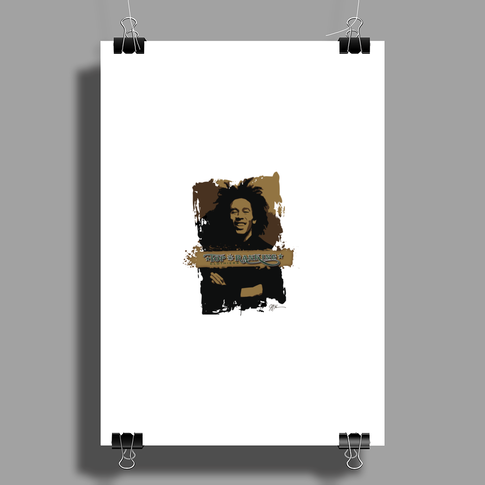 Top Ranking Series: #001 Poster Print (Portrait)
