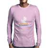 Totally Straight Mens Long Sleeve T-Shirt