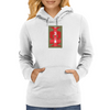 Totem Of The Informed Savage by YAWNZ Womens Hoodie