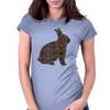 Totemic Bunny Womens Fitted T-Shirt