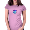 Totoro -chesire cat Womens Fitted T-Shirt