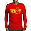 Touchdown Teddy Mens Long Sleeve T-Shirt