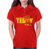 Touchdown Teddy Womens Polo
