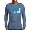 Tour De France Alp D'Huez Cycling Mens Long Sleeve T-Shirt