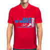 Tour De France Alp D'Huez Cycling Mens Polo
