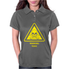 Toxic Hazard Laboratory Poison Substance Warning Womens Polo