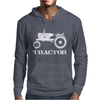 Tractor Driver for Farmer and Construction Worker Mens Hoodie
