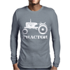 Tractor Driver for Farmer and Construction Worker Mens Long Sleeve T-Shirt