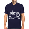 Tractor Driver for Farmer and Construction Worker Mens Polo
