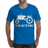 Tractor Driver for Farmer and Construction Worker Mens T-Shirt