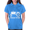 Tractor Driver for Farmer and Construction Worker Womens Polo