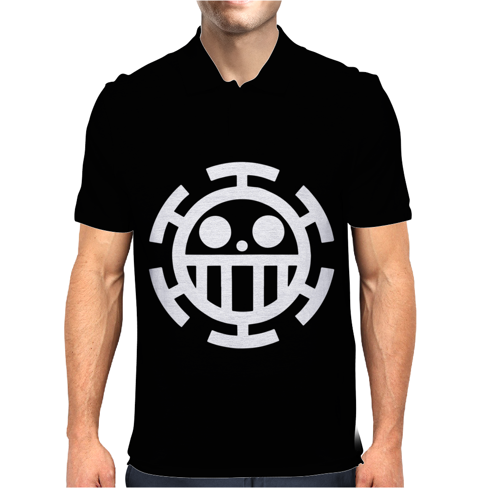 Trafalgar Law One Piece Flag Mens Polo
