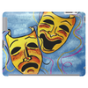 TRAGEDY AND COMEDY MASKS Tablet (horizontal)